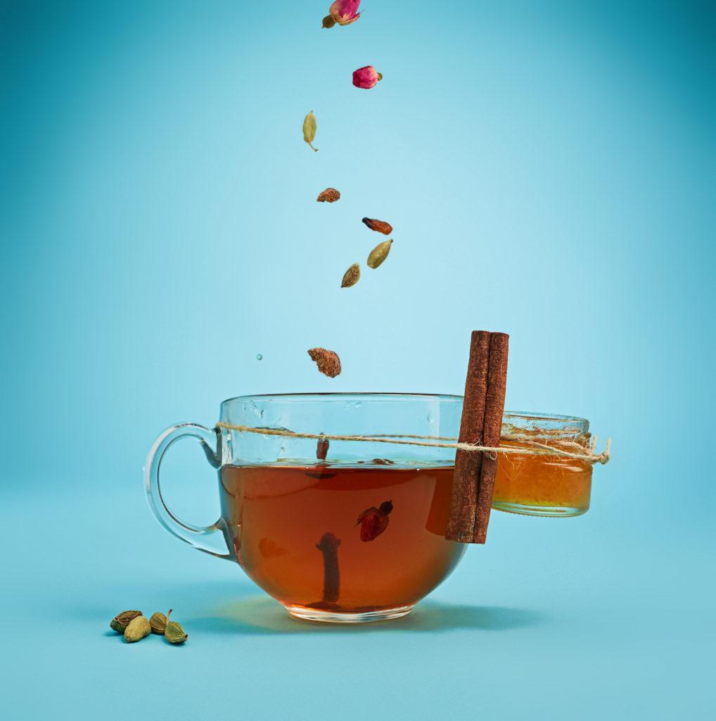 Чай с етерични масла